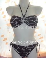 2014 new sexy Craquelure push up lady's fashion bikini vs women swimwear separates