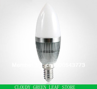 220V E14 1W/3W SCREW BASE  WARM WHITE CANDLE LED BULBS LIGHT LAMP FREESHIPPING