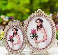Quadros Decorativos Top Fashion Sale New Freeshipping Moldura Picture Frames 6 Alloy Enamel Rack Silver Butterfly Wedding Dress