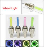 4PCS/Lot 6.5*2cm Car Wheel Lights Bike Wheel Led Lights Car Motorcycle Bicycle Valve Light for Tyre Wheel light Lamp #D111A