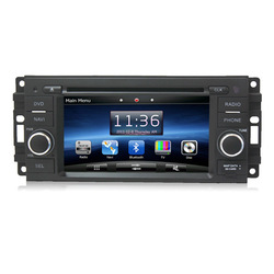 Car radio gps 6&quot; Car DVD Player GPS Navigation Navi for Jeep Grand Cherokee Commander Compass with Bluetooth | iPod | Dual Zone(China (Mainland))