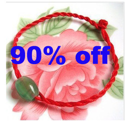 Promotion Fashion luckly Infinity charm bracelet women ladies' gift red rope chain wholesle Free shiping(China (Mainland))