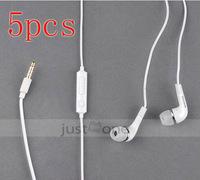 5pcs 3.5mm In Ear Earphone Headset f Samsung Galaxy Note N7000 S II i9100 Nexus i9250  free shipping