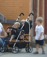 2014  kinderwagon twin stroller double stroller twins baby stroller twin car Free shipping