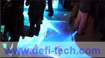 Low cost Interactive Floor Magic Floor for advertising, exhibition, event, education, wedding