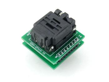QFN16 TO DIP16 MLF16 MLP16 Plastronics QFN IC Programming Adapter Test Burn-in Socket 3 * 3 mm 0.5 Pitch + Free Shipping