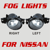 FREE SHIPPING ! Fog Lamps for Nissan Sentra 2010 U.S. Version with Switch Wire harness Bulbs Screws  High Quality  In Stock!!