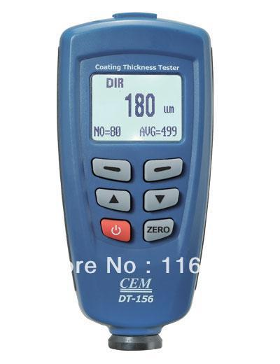 CEM DT-156 Paint Coating Thickness Gauge Tester F/NF(China (Mainland))