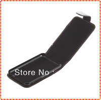 1pcs Leather Pouch Case Cover Flip Down For iPhone 3 3G 3GS Black wholesale Dropshipping