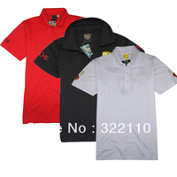 Men's Fashion Short Sleeve Tee T Shirts Good quality Retail Drop Shipping Wholesale Free Shipping Embroidery Family look
