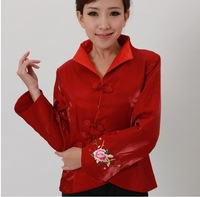 Chinese Women's Fashion Traditional Embroidery jacket Cheongsam Vest Dress M-3XL