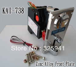2pcs of KAI-738C FRONT ENTRY ELECTRONIC COIN SELECTOR(China (Mainland))