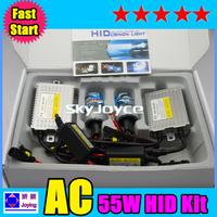F5 Fast start hid kit H1 H3 H7 9005 9006 xenon hid kit 4300k 6000K 8000K hid conversion kit UNid0927CX2013