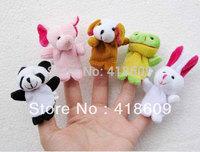 Cartoon Animal Finger Puppet,Finger toy,finger doll,baby dolls,Baby Toys,Animal doll Free Shipping 20pcs/lot (2 bags,10pcs/bag)