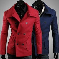 New menswear Specials England Slim men's woolen coats 125043
