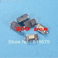 200pcs new SMD SMT Touch Switch 3 x 6 x 2.5 mm 2 pins,freeshipping