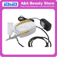 Portable Airbrush Tanning Set , Body Paint Kit, 1pc Mini Compressor & 1pc Airbrush, 20ml & 40ml Bottle CE, GS, UL certificated!