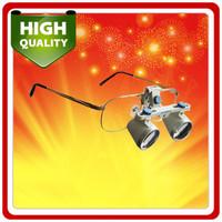 3.0X Dental Surgical Medical Binocular Loupe for Dentist 420mm w/ Titanium Frame