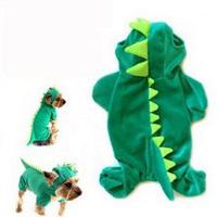 2013Free shipping new arrival autumn winter pet clothing dog cloth camofleece dinosaur Cinderella