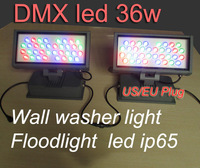 DMX512 led wall washer, dmx led floodlight, dmx led outdoor waterproof lighting, with US/EU Plug by B-Lighting
