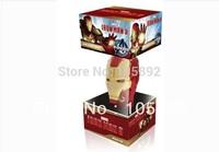 Free shipping 38pcs/lot 2GB 4GB 8GB 16GB Metal Ironman mask usb flash drive memory stick pendrive with original retailer packing