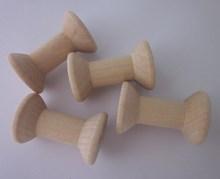 Venda quente 48 mm cor natural de madeira contas rolo Spool Craft e DIY 6 pçs/lote 017031(China (Mainland))