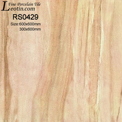 [LEOTIN]Semi-polished tile Wholesales Glazed Porcelain floor tiles 600x600mm RS0429(China (Mainland))