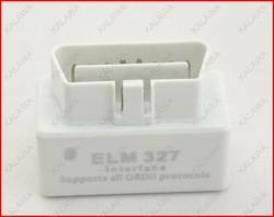 Hot 2013 super mini elm327 bluetooth ELM 327 Interface OBD2 / OBD II Auto Car Diagnostic Scanner OBDII #SSS(China (Mainland))