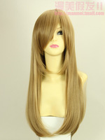 Lady fashion wig cosplay wigs synthetic hair wigs cap free shipping