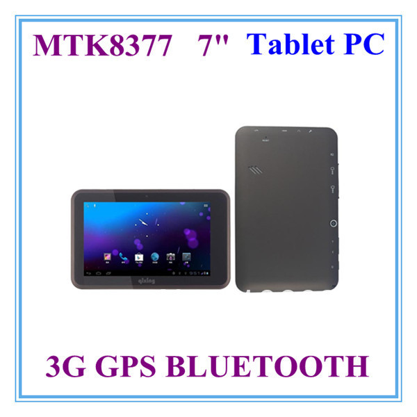 2013 new cheap dual core 3g tablet pc mtk 8377(mtk6577) 1.5ghz 3g gps ATV FM bluetooth wifi 1GB ram 8GB rom 1024x600 in stock(China (Mainland))