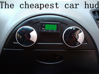 Free shipping by hk post ari mail Hud , head up display device car display table speedometer car digital speedometer