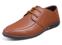 Freight Amendment Real Cowhide Shoes,Top Layer Leather, Men's Daily Casual Shoes,British Style