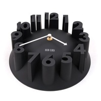 New Fashion 3D Digital Clock Art Wall Clock Creative for Living room Bedroom Shop