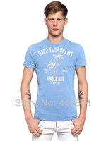 Free Shipping DSQ T-shirt Men ,wholesale printed t shirt men brand fashion men's t-shirts sport top tee shirts apparel D2
