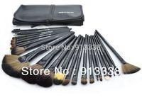 Free Shiping Hot Professional 24PCS Cosmetic Makeup Brush Set Make up Kit black