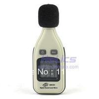 30-130dB Digital Sound Level Meter Decibel Logger Tester Noise Meter