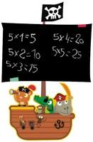 free shipping PVC writeable black board nursery wall decal  corsair wall sticker 45*60 cm for kid room/children room