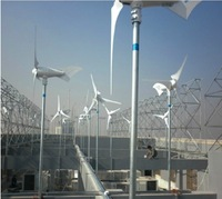 1000W wind turbine generator +1kw charge controller +1000W UPS inverter with 20A charger
