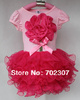 Retail 1Pcs 2013 Girl  Cute Dress Kids TuTu Dresses for 2-6y girl high quality