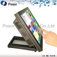"Factory outlets:ALL In One 15"" Touch POS systems POS terminal point of sales Financial Equipment payment with WIFI : P15-A5W"