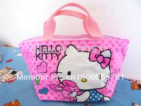 Xmas Gift PINK Tote bag Hello kitty Handbag Girls Handbag #39
