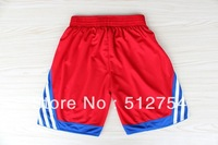 Free Shipping,Hot sale 2013 All Star basketball shorts,2012 new material Rev 30 sport shorts,embroidery logo,Size M-XXL