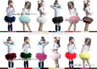 New 2013 6 layer  Summer Girls Tiered Skirts Layered Skirts Princess Skirts for kids petticoat Tutus 4pcs/ lot  Free shipping