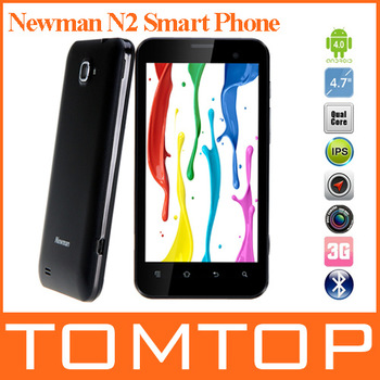 "Newman N2 Smart Phone Android 4.0 Quad Core Exynos 4412 4.7"" HD IPS 10Points Touch 13MP Camera 8GB ROM 1GB RAM Black"