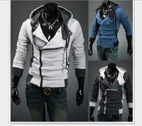 New Assassin's Creed 3 Desmond Cosplay Costume Hoodie Coat Jacket F Man & Woman Birthday Gift