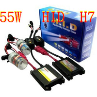 XENON H7 hid kit slim hid kit canbus light ballast 9005 55w xenon 3000k----12000k free shipping by HongKong Post Air Parcel