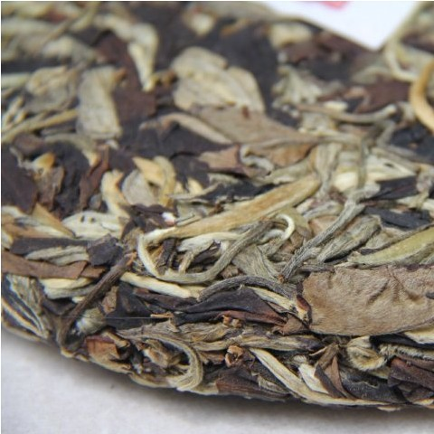 2012 Pu er tea 357g raw tea moonlight beauty top trees moonlight white pu'er health tea(China (Mainland))