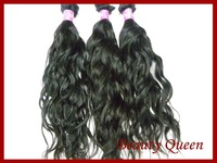 "virgin natural wave hair 4pcs  12""-28""  DHL fast free shipping"