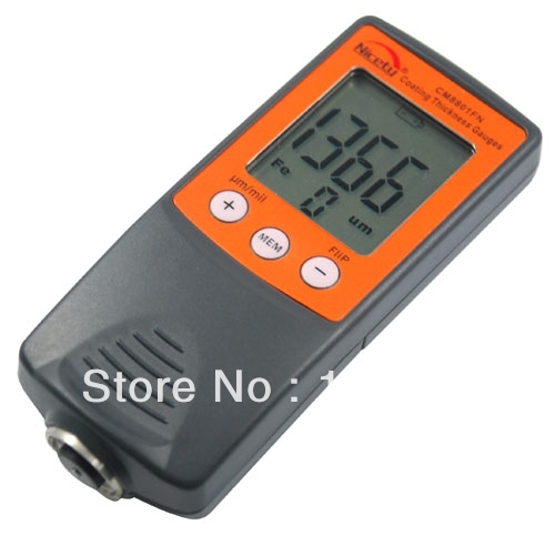 NEW CM8801FN Digital Coating Thickness Gauge Paint Meter Tester 0-1250um/0-50mil(China (Mainland))