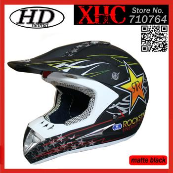 Motocross monster helmet off-road dirt bike classic helmet racing helmet Rock star RR full face helmet